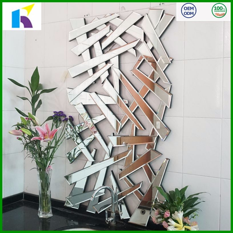2016 hot sale wall art decorative wall mirrors mdf frame for Fancy wall mirrors for sale