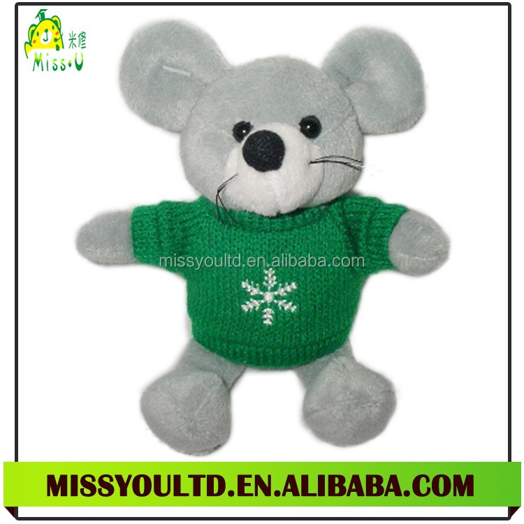 Wholesale New Style Plush Mouse Animal Figurine Toy For Kid Gift