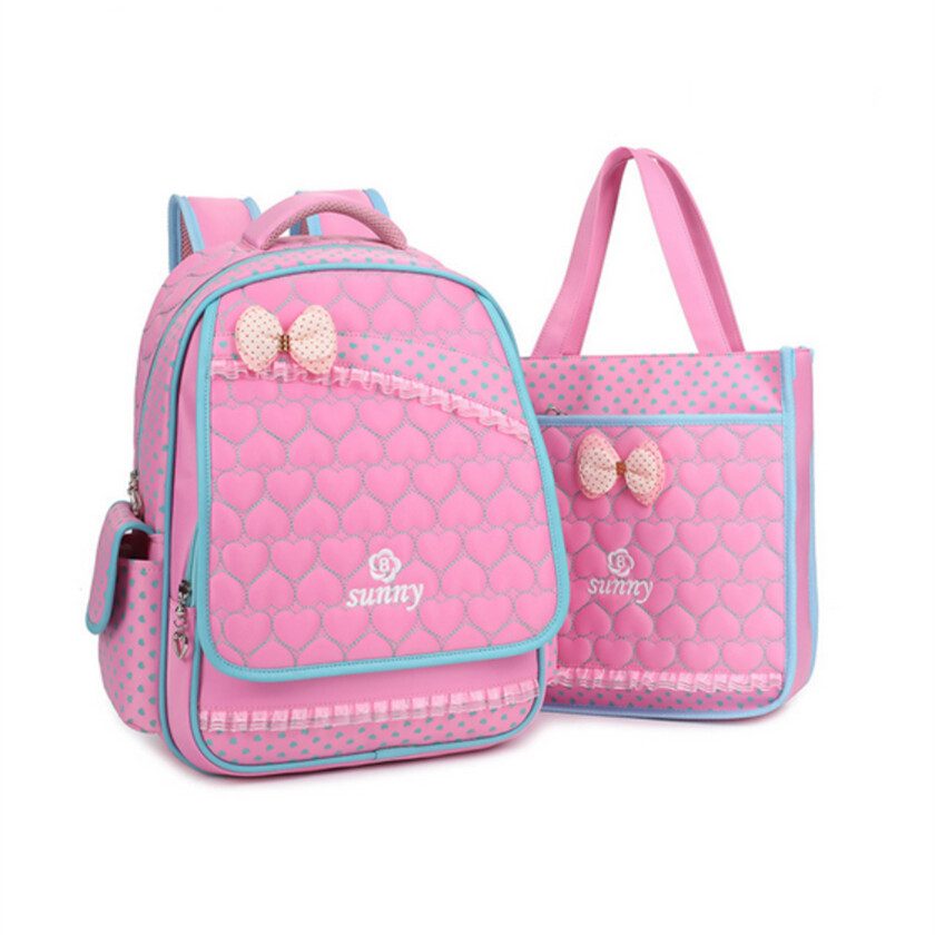 Get Quotations · santoro gorjuss girl school bag black randoseru backpack  girls pink floral bows schoolbag kids elementary backpacks ad647ebaed