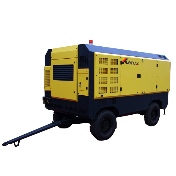 portable diesel engine driven air compressors HG550M-13
