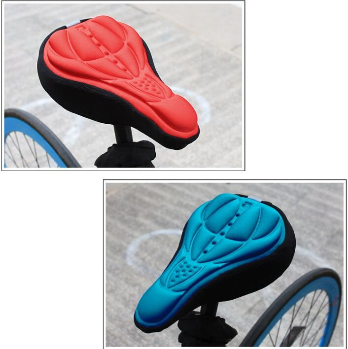 MTB Gel Bicycle Saddle Cover Soft Gel Seat 3D Pad Saddle Cover