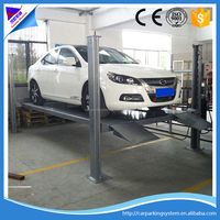 Parking Used 4 Post 2 level car parking system hydraulic car park lift sports