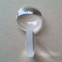 Acrylic Aspheric Plano Convex Lens 38mm Diameter 35mm Focal Length ...