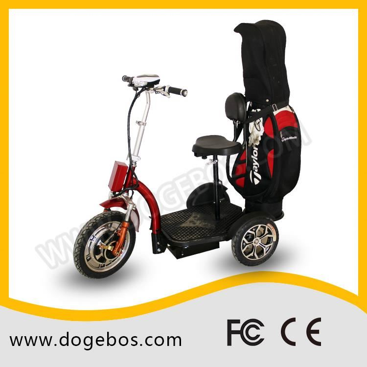 Ml-302 golf customized lead/lithium 200cc adult trike scooter with detached seat