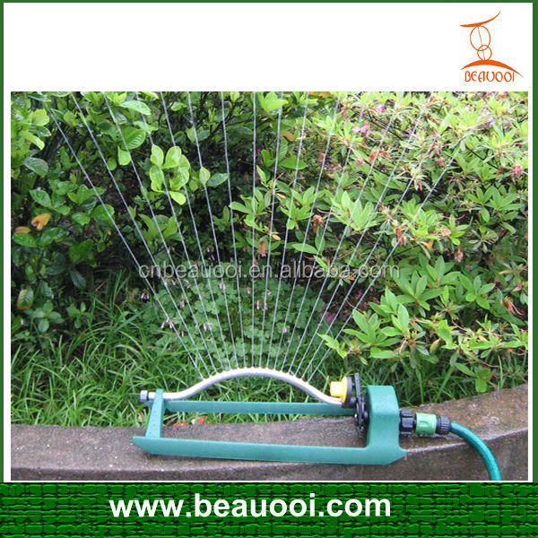 garden use water oscillating sprinkler