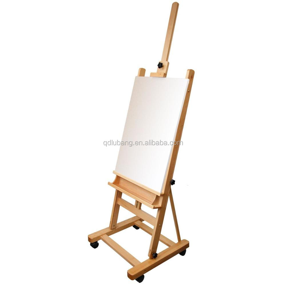 Adjustable Classic Hand-finished Wood Studio Adjustable H-frame Artist  Easel - Buy Easel,Wooden Easel,Artist Easel Product on Alibaba com