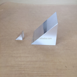 BK7/H-K9L optical glass isosceles quartz prism