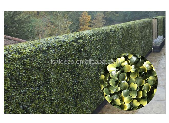 Hedge artificielle panneau uv resist pe tapis de buis - Tapis herbe artificielle ...