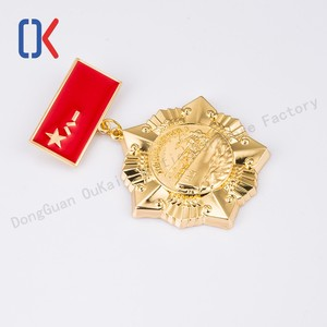 Newest design custom military souvenir 3d metal medal