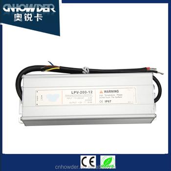 SMPS power supply with 12V/16.5A 13.5V/14.3A 15V/13A 24V/8.3A 27V ...