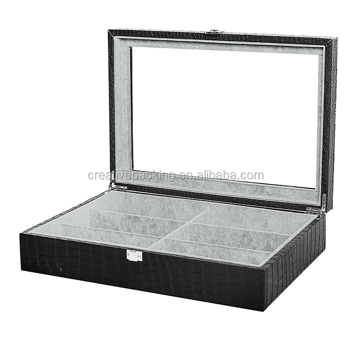 Custom Leather Sunglass Display Storage Box