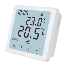 Wireless Control System Programmable Touch Screen Room Wifi Thermostat For Boiler