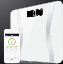 Hot sell Bluetooth body fat scale with free App