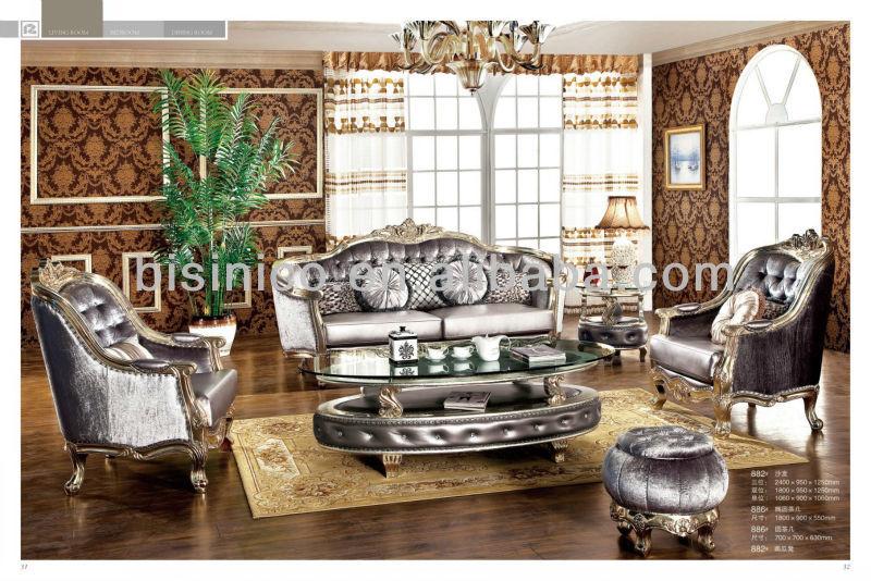 Luxe antique de style européen mobilier de salon, classique ...