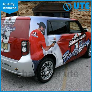 Advertising logo stickers car matt body design stickers