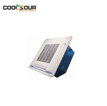 COOLSOUR Chilled Water 4 Way Ceiling Type Cassette Fan Coil Unit