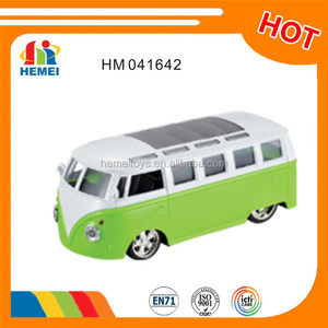 diecast bus toy mini shool bus with sound and light