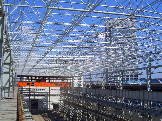 Large Span Steel Structure Space Frame Construction Details