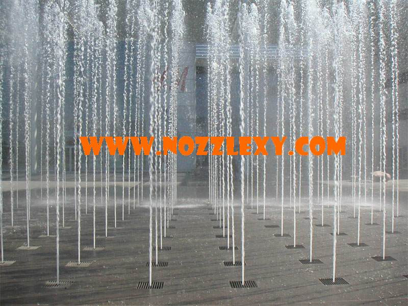 Dry Fountain Water Jet Nozzle Jumping Jet Water Park