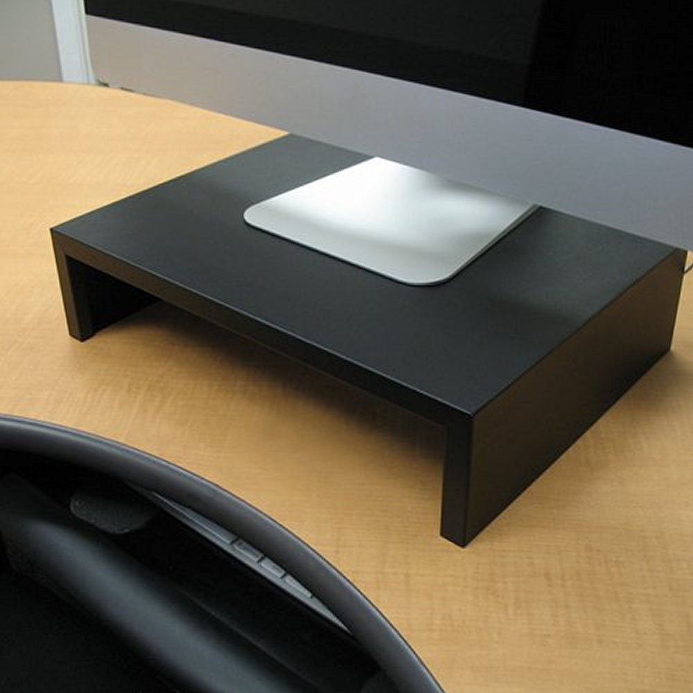 """Steel Monitor Stand Size: 4"""" H x 24"""" W x 12"""" D"""