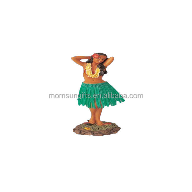 New Dashboard Hula Girl Bobblehead Doll