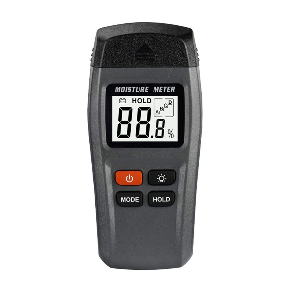 Cary-Yan Wood Humidity Tester MT15 Digital Moisture Content Portable Wood Moisture Meter Timber Damp Detector