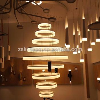 Lampadari Grandi Moderni.Grande Anello Moderno Lampadario Led Di Grandi Dimensioni Per Hotel Buy Lampadario Di Grandi Dimensioni Grandi Lampadari Moderni Moderno Lampadario