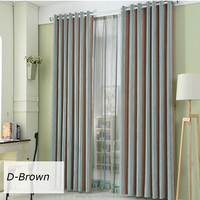 100% Polyester Chenille Jacquard Woven Upholstery Flocking Fabric,Different Color Simple Design Polyester Curtains and Drapes