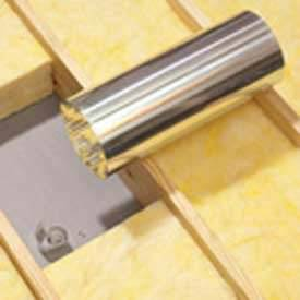 """Velux Zte022 22"""" Sun Tunnel Elbow, 34"""" Length, Aluminum, 24-1/2""""L X 36-1/2""""H X 24-1/4""""D"""