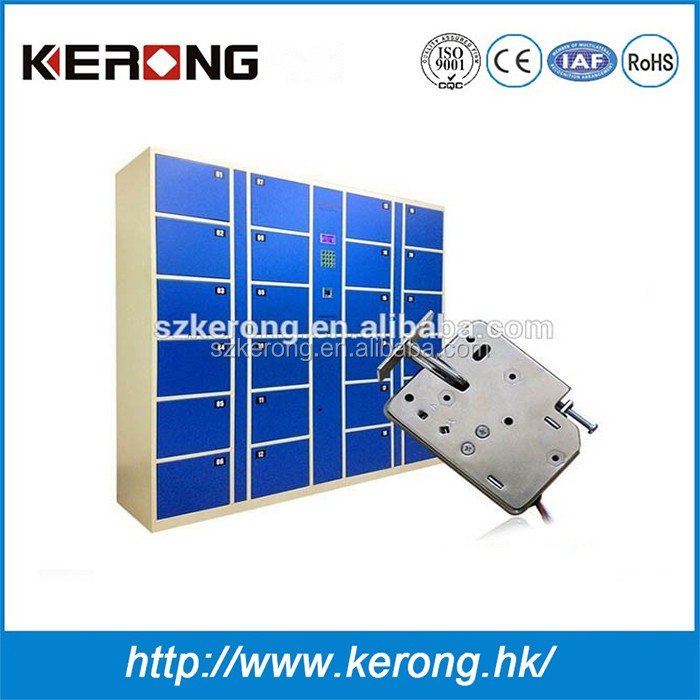 Keyless 12V/24V electric mechanical cabinet lock for storage