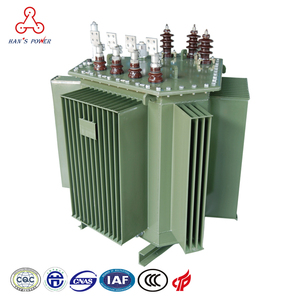 Low Loss Silicon Core ONAN ONAF Cooling 630 kva Step Down Oil Immersed Power Distribution Transformer