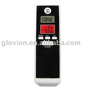 Dual Lcd quick Alcohol breath Tester breathalyzer fit alcohol tester