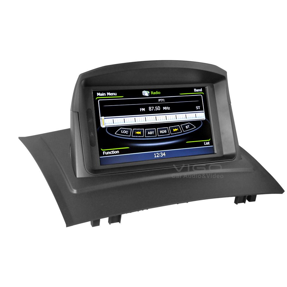 car stereo gps navigation for renault megane ii 2006 2009 radio rds dvd player multimedia. Black Bedroom Furniture Sets. Home Design Ideas
