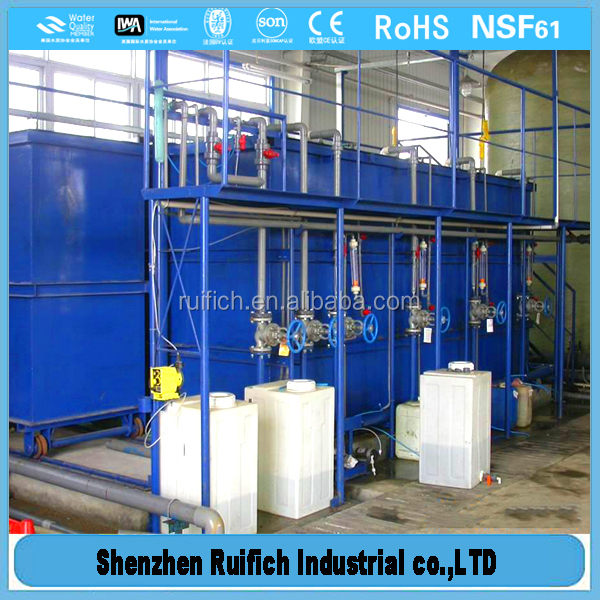 High level of mbr sewage treatment plant,compact sewage treatment,water recycling system for car wash