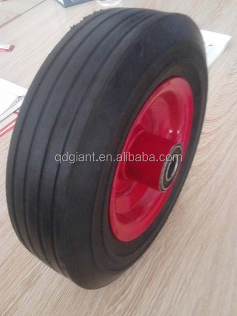 8x2.5 Solid Rubber Wheels Supplier for sale