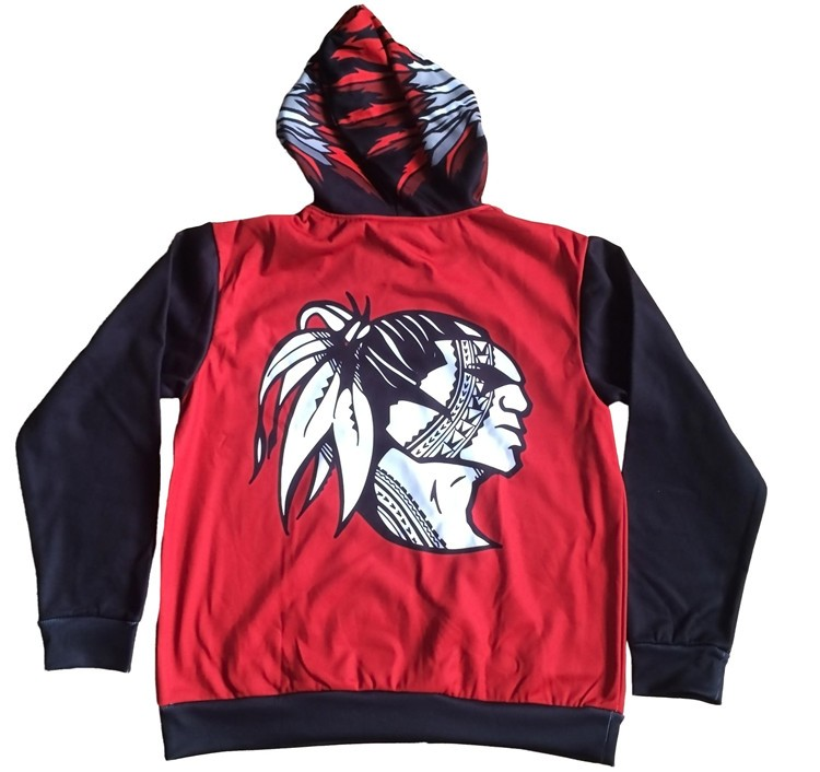 Factory latest style sublimation printing oem hockey hoodie