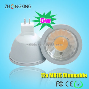 6500K LED Spot Light MR16 220V GU5.3 Dimmable 5W LED Aluminum Housing