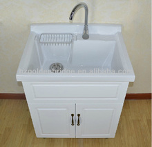 Stand Alone Laundry Sink : laundry tub with cabinet LD01