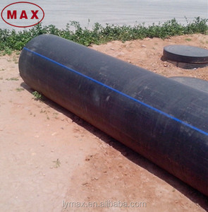 Black HDPE poly- earth tube sale