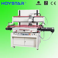 light guide plate screen printing automatic machine with unloading device