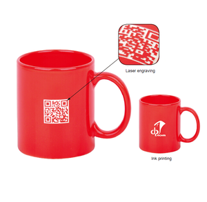 Wholesale promotion 12oz custom logo 350ml ceramic mug cup