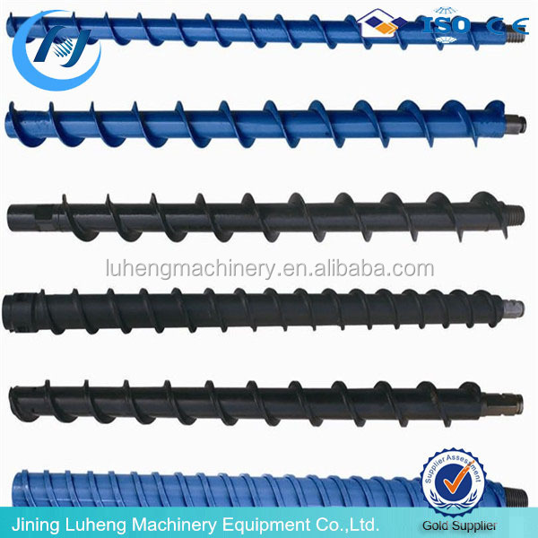 High quality water exploring twist drill rod / Steel Spiral Twist Drill Rod for sale