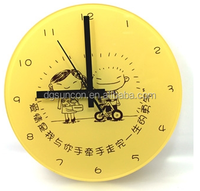 modern designed acrylic decorative wall clock