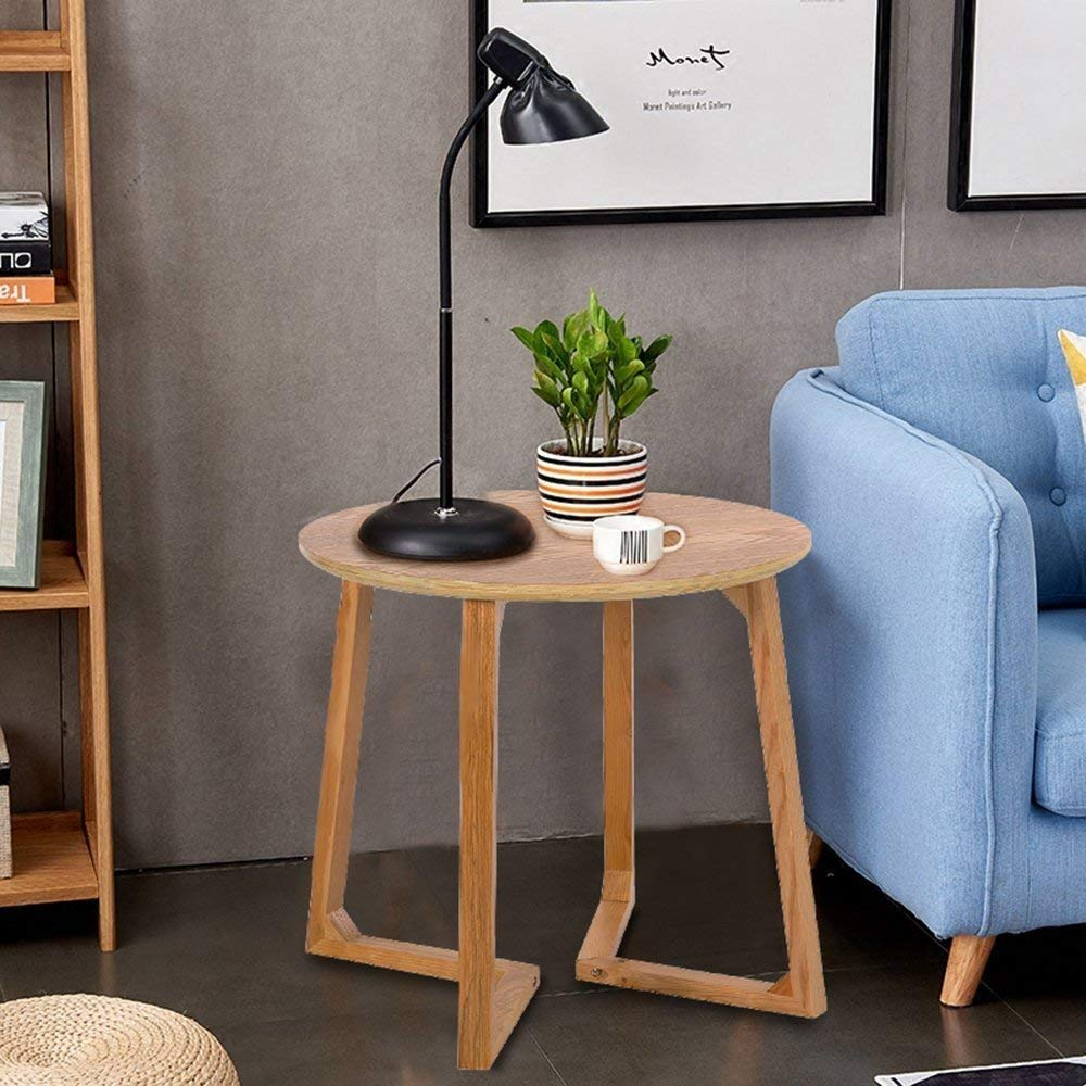 Indoor Multi-Function Accent Table Study Computer Home Office Desk Bedroom Living Room Modern Style End Table Sofa Side Table Coffee Table Accent end table