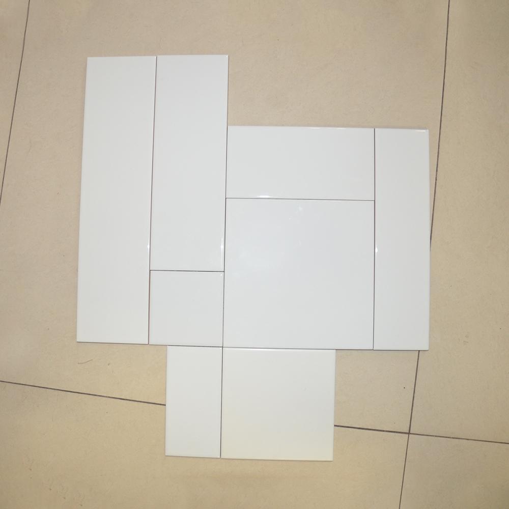 Hs M1400 White Color Moroccan Subway Lanka Tile Price Metro Tiles Product On