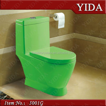 bathroom toilet green colored toilets, one piece modern toilet bowl, colored toilets for sale