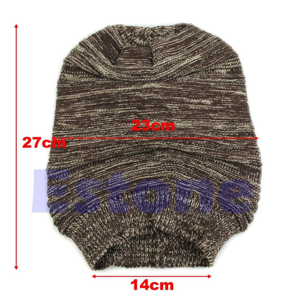 41ab0eac03f0a9 Wholesale N94 New Unisex Mens Womens Knit Baggy Beanie Beret Hat ...