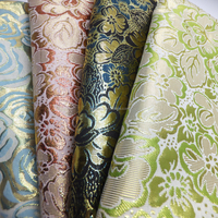 New Woven Metallic jacquard and dobby fabric Fabrics In China Textile