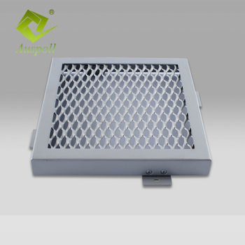 China Suppliers Manufacture Aluminum Metal Mesh Ceiling Tiles Grid Panel