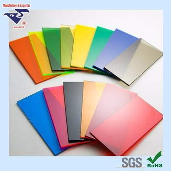Colorful Ps Acrylic Plastic Sheets For Sign Boards And Interior ...